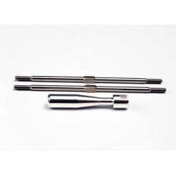 Turnbuckles, titanium 105mm...