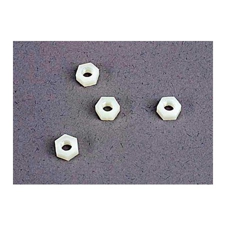 4mm nylon wheel nuts (4)
