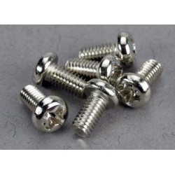 Screws, 3x6mm roundhead...