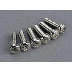 Screws, 3x10mm roundhead...
