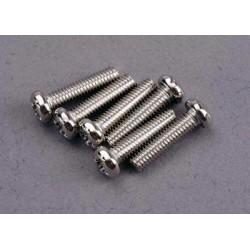 Screws, 3x12mm roundhead...