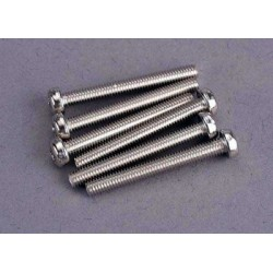 Screws, 3x25mm roundhead...