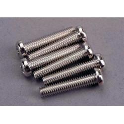 Screws, 4x20mm roundhead...