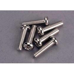 Screws, 4x15mm roundhead...