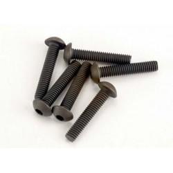 Screws, 3x15mm button-head...