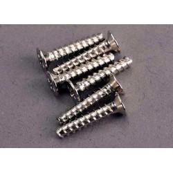Screws, 3x15mm countersunk...