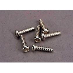 Screws, 2.6x10mm roundhead...