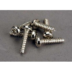 Screws, 3x12mm roundhead...