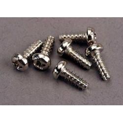 Screws, 3x8mm roundhead...