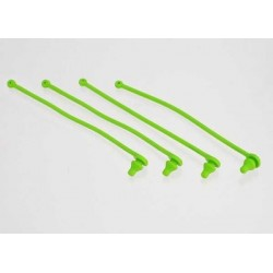 Body clip retainer, green (4)