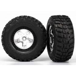 Tire & wheel assy, glued...