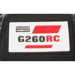 G260RC Pullstart Sticker