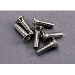 Screws, 3x10mm countersunk...