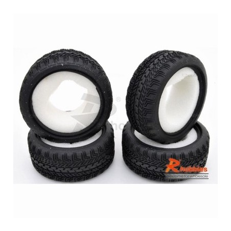 RCVP3320083 - 1/10 RC Car Touring Tire 26mm with insert
