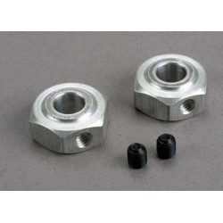 Aluminum hex wheel hubs...