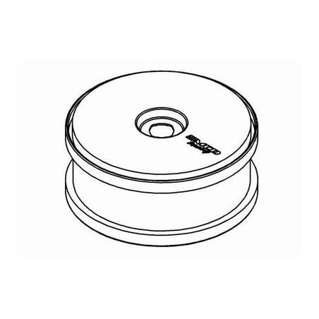 M100104P - Wheel White Dish Disc 180 mm