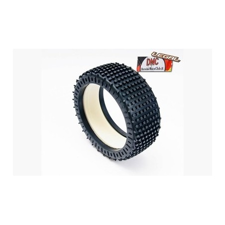 100203R - Tyre 180 Mm Micro Stud V2 Blue soft