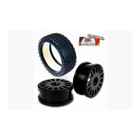 M100203X - 180mm Micro Stud v2 Blue Medium + Rims