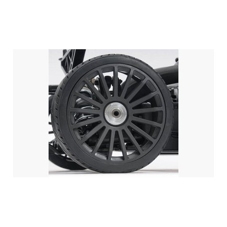 M100111P - Wheel Black 17 Spoke 180 mm