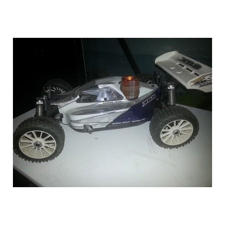 XRAY XB Buggy met nieuwe megamotor.