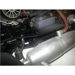 Serpent 720 met megamotor incl. stuur- en gas servo