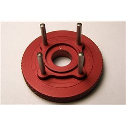 JVD-RC flywheel and crown, diameter 34 mm