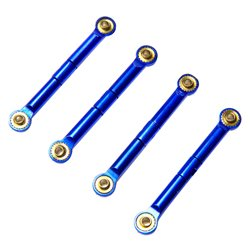 AT4158B - Alloy Front/Rear Adj Tie Rod for Traxxas Rally1/16