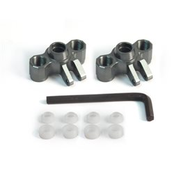 AT1477GM - Front Knuckle Axle Carriers for Traxxas Rally1/16