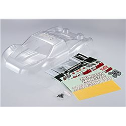 KB48033 - SCT  (1/10), Clear Body, Decal Kit