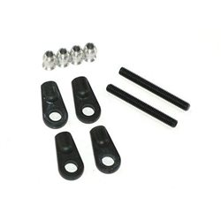 160155 - Steering servo rod set TT long
