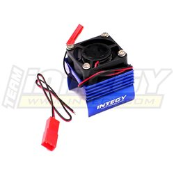 C23141BLUE - Super Brushless Motor Heatsink+Cooling Fan 1/16