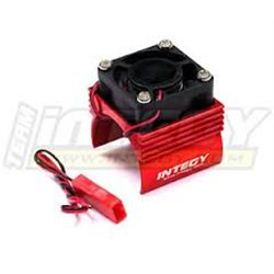 C23141RED - Super Brushless Motor Heatsink+Cooling Fan 1/16