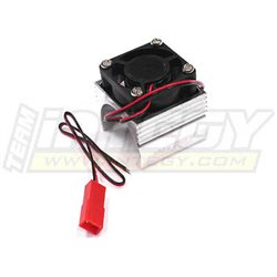 C23141SILVER - Super Brushless Motor Heatsink+Cooling Fan