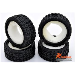 RCVP3320084 - 1/10 RC On-Road Car Performance Tyres Set with