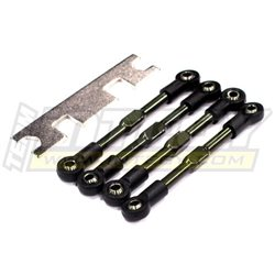 T3405 - Front & Rear Turnbuckles (4) 1/16 Traxxas Rally