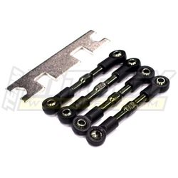 T3406 - Push Rods (4) for 1/16 Traxxas Rally