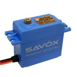 SW-0231MG - Savox digital waterproof servo metal gear
