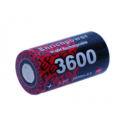 EP3600 - Enrich Power (EP) -1.2v 3600mAh Ni-MH-Battery for RC Nitro Glow