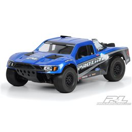 PL3366-00 - Flo-Tek Ford F-150 Raptor SVT Clear Body for Sla