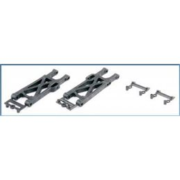 124007 - Rear Lower Suspension Arm Set - S10 Twister